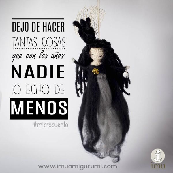 NADIE ECHO DE MENOS MICROCUENTO